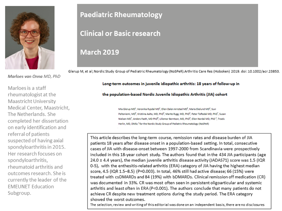 EMEUNET | WIN Paediatric Rheumatology