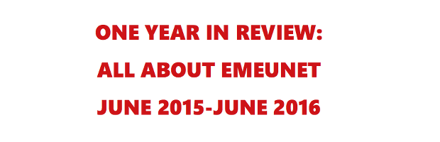 EMEUNET One Year in Review
