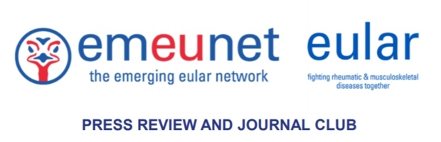 12th Edition of the EULAR-EMEUNET Press Review and Journal Club Newsletter